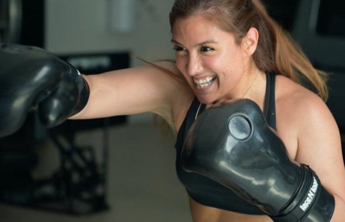 Aqua Boxing Glove