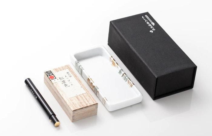 Aritayaki Yoshida Japanese calligraphy set