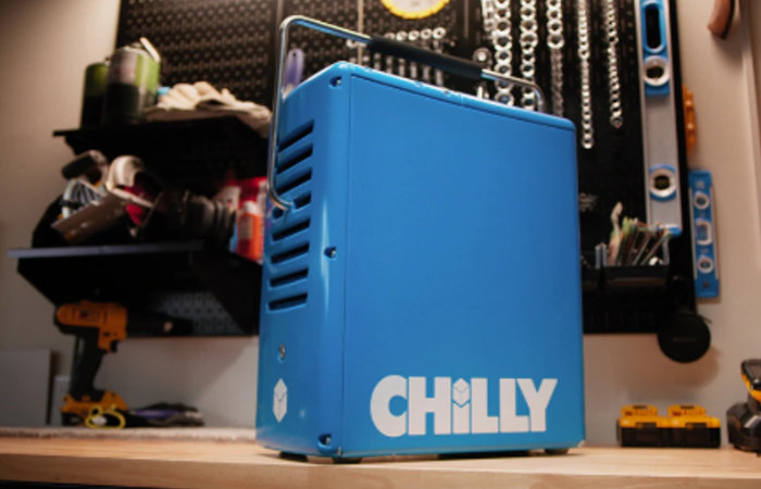 CHILLY rotomolded portable cooler