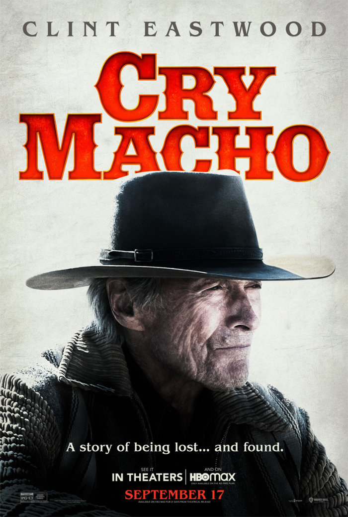 Cry Macho Clint Eastwood film poster