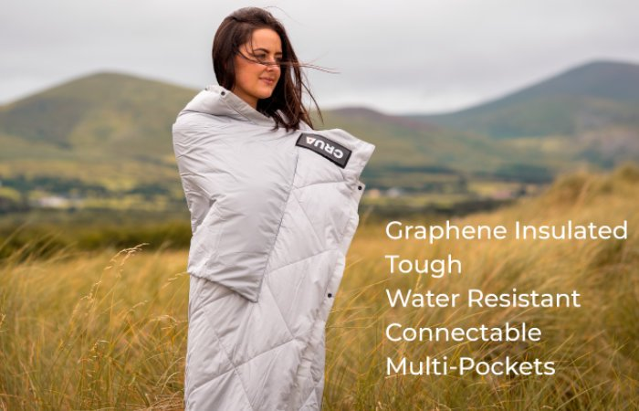 Culla outdoor blanket by crua