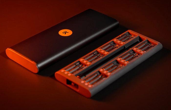 EK portable multipurpose screwdriver set
