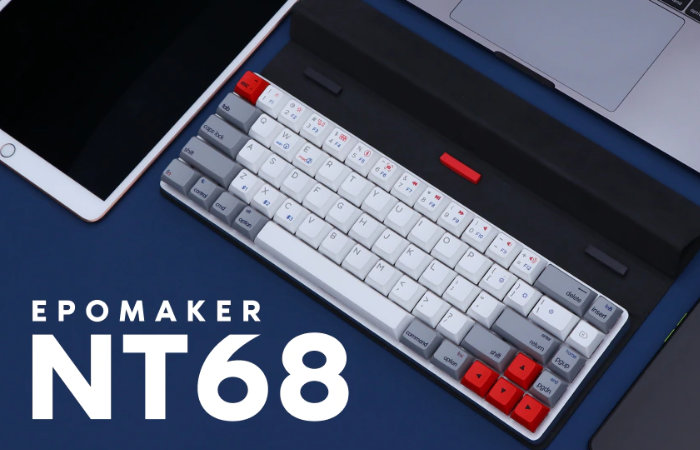 Epomaker NT68 65% wireless mechanical keyboard