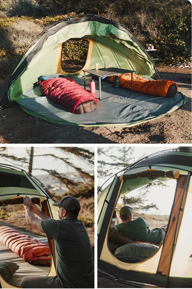 Escape M4 tent