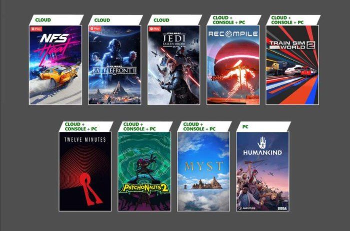 Free Xbox games coming to Xbox Games Pass