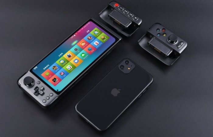 modular handheld Android games console