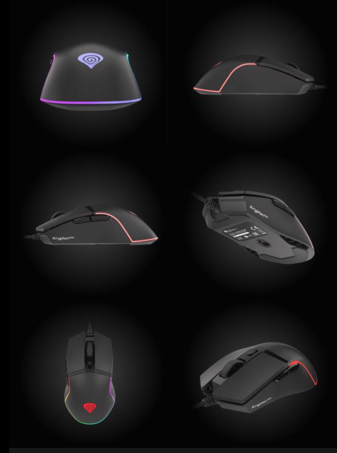 Krypton 220 and Krypton 200 Gaming Mice