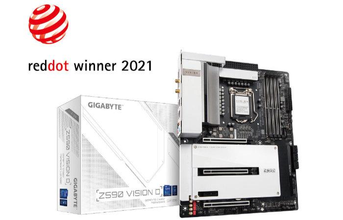 Gigabytes Z590 Vision series motherboards