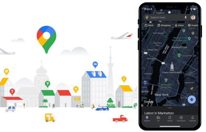 Google Maps iOS app updated with