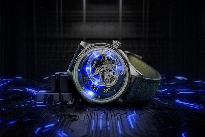Hybrid Mechanical Time Display