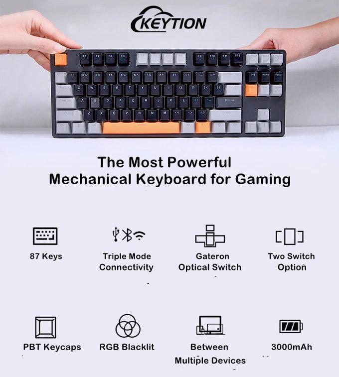 Keytion mechanical keyboard