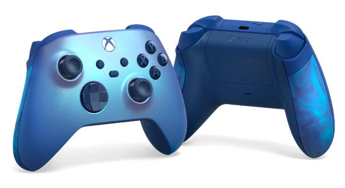 New Aqua Shift Special Edition Xbox wireless controller
