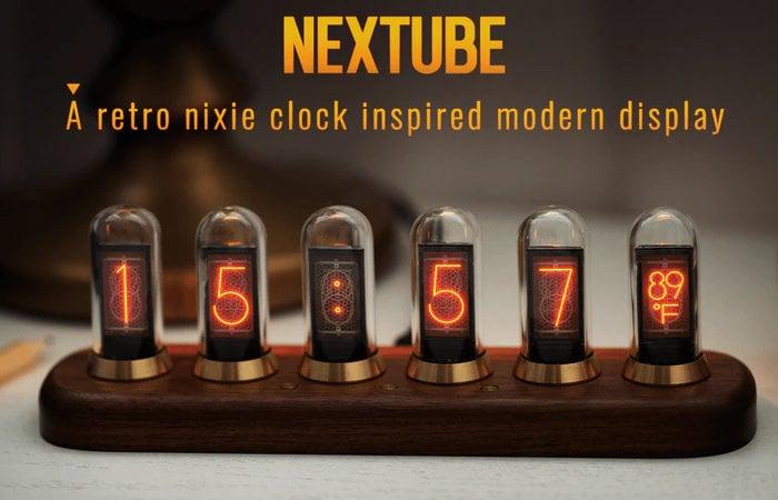 Nextube nixie clock