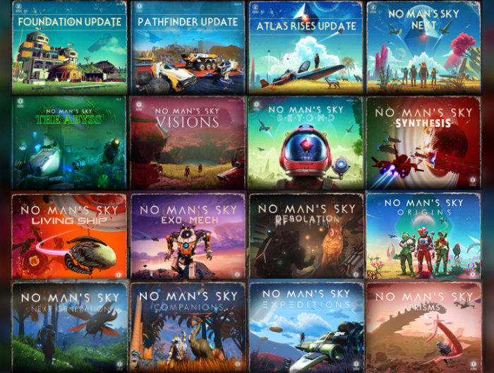 No Mans Sky expansions