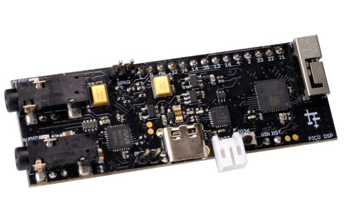 PICO DSP open-source ESP32-based audio dev board now available