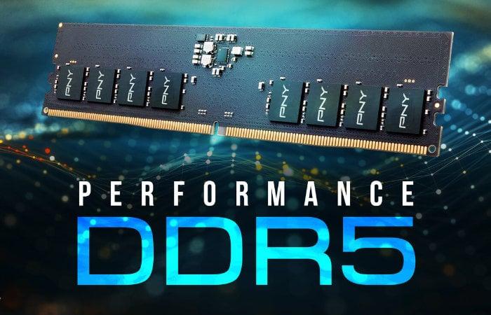 DDR5 4800MHz memory