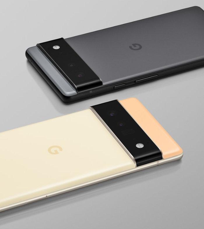 Google Pixel 6 and Pixel 6 Pro phones