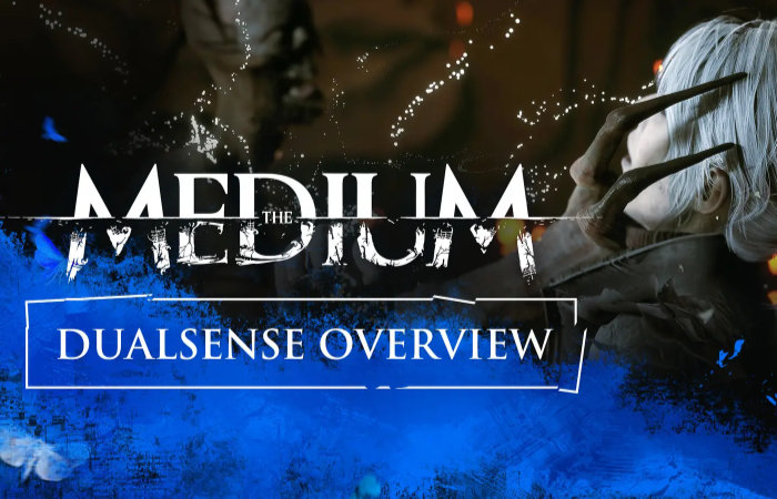 PlayStation 5 DualSense controller adds immersion to horror game The Medium