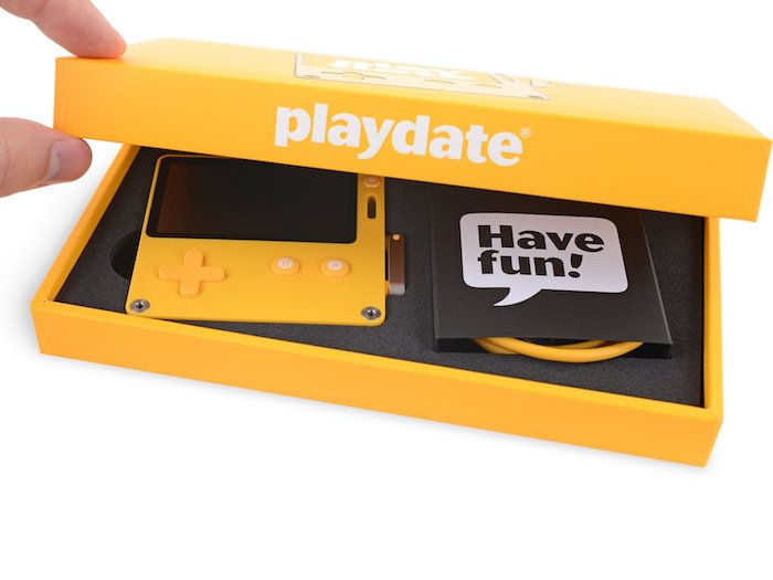 Playdate gaming console