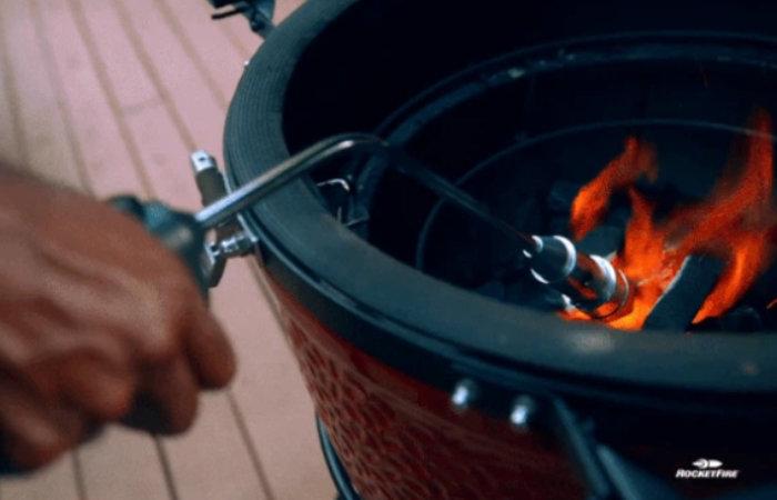 RocketFire superfast firestarter