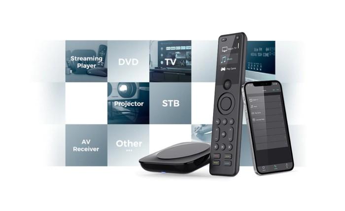 SofabatonX1 smart home entertainment universal remote