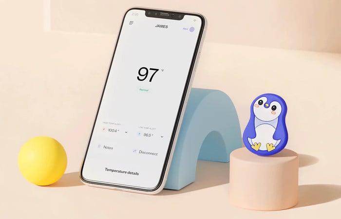 Walnut Thermal smart wireless thermometer