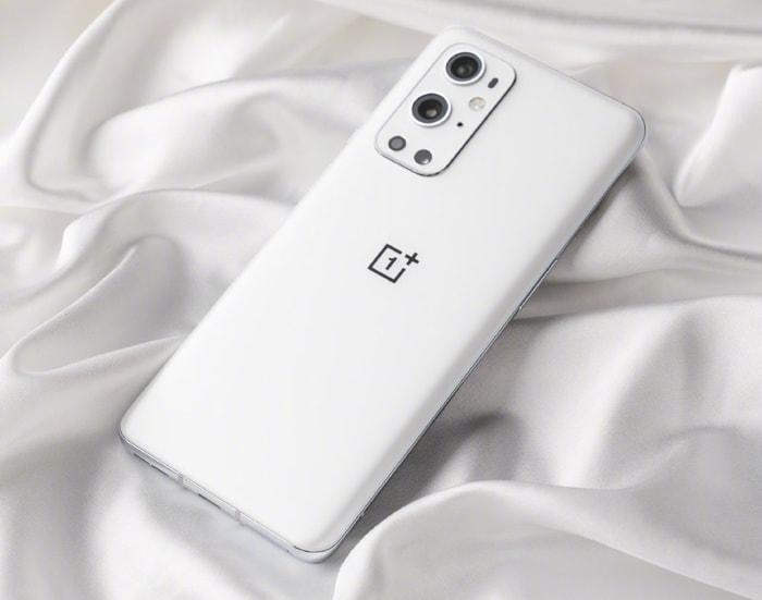 White OnePlus 9 Pro