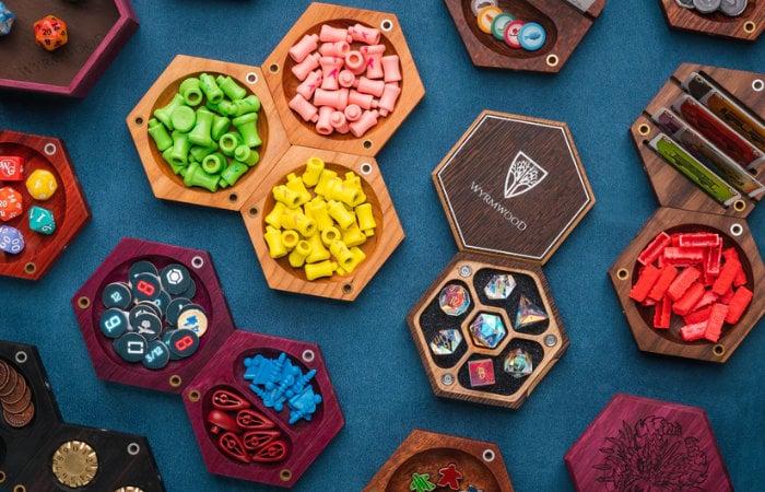 Wyrmwood Hexagonal modular gaming tiles