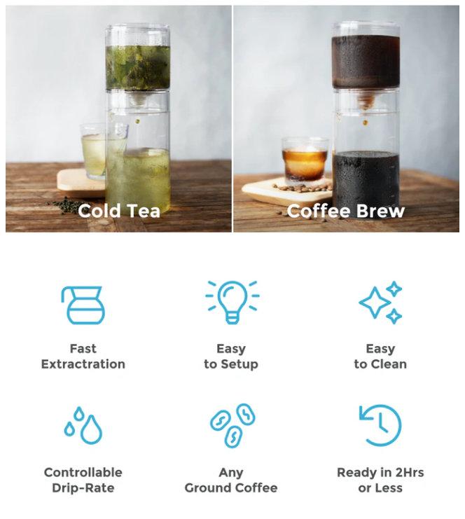 cold brew coffee maker Kickstarter