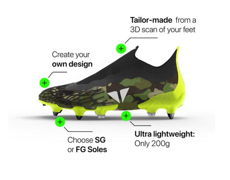 IMOTANA custom made football boots
