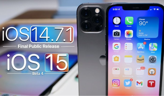 iOS 14.7.1 and iOS 15 Beta 4 features