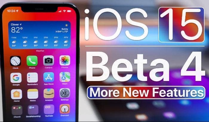 iOS 15 beta 4 more features