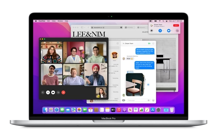 macOS 12 Monterey Public Beta 5