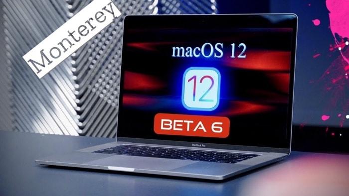 macOS Monterey beta 6
