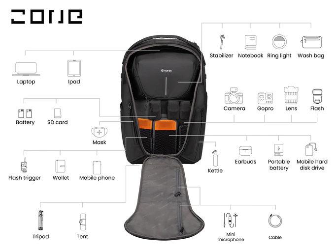modular backpack