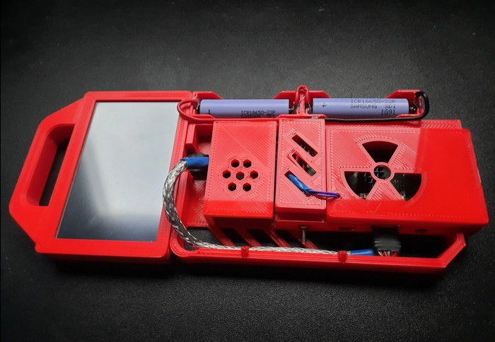 3D printed cyberdeck