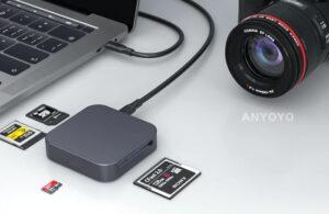 ANYOYO 10gbps high-speed flash card reader