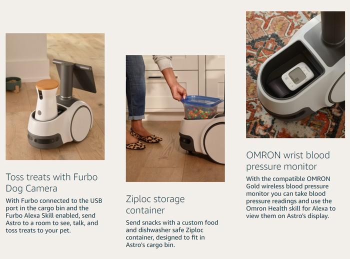 Amazon Astro home robot features