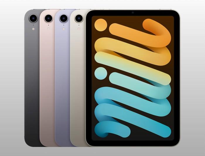 Apple iPad mini 2021 colors