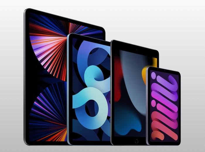 Apple iPad range 2021