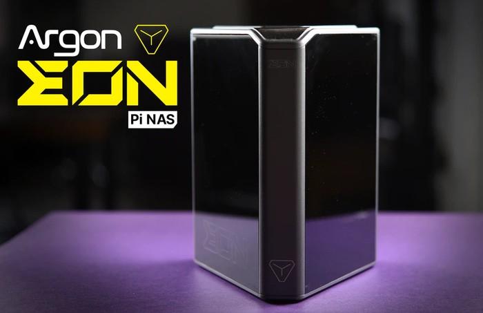 Argon EON Raspberry Pi 4 NAS storage solution