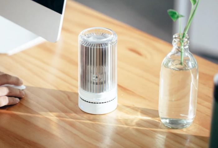 Aroma diffuser air purifier