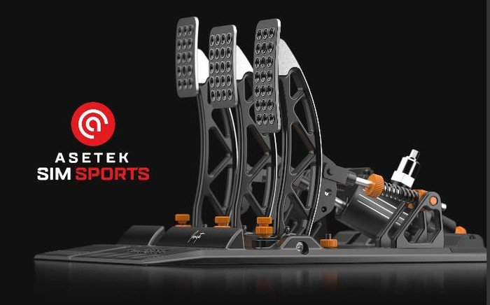 Asetek Invicta Sim Racing Pedals