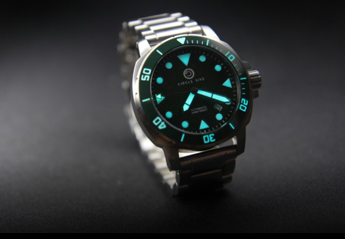 Circle 5ive Torpedo 300m automatic diver watch