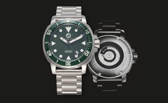 Circle 5ive Torpedo 300m diver watch