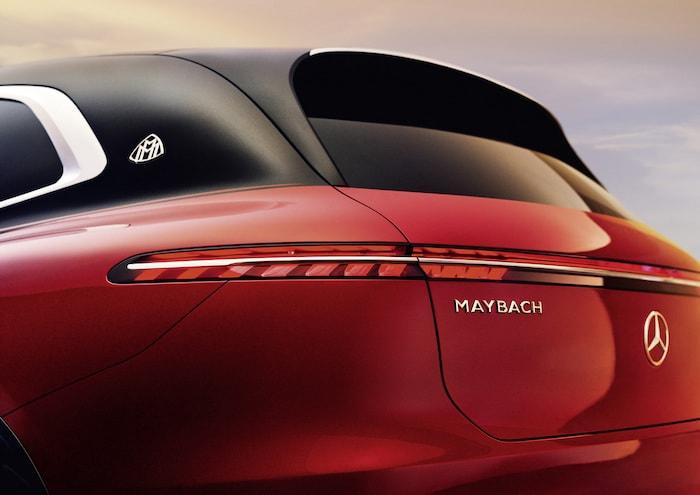 Concept Mercedes Maybach EQS