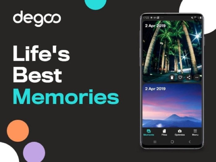 Degoo Premium Lifetime 10TB Backup Plan