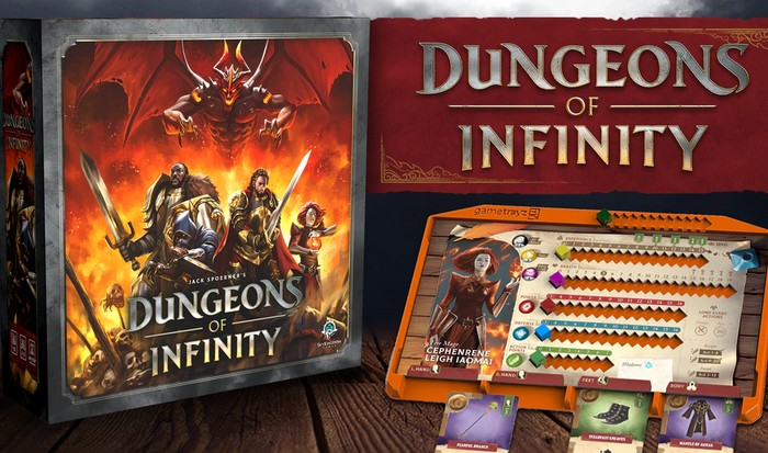 Dungeons of Infinity board game