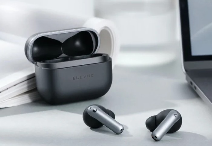 Elevoc noise cancelling earbuds