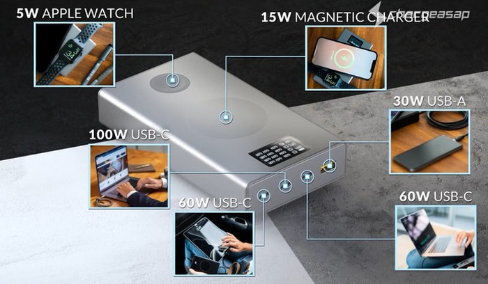 Flash Pro portable battery